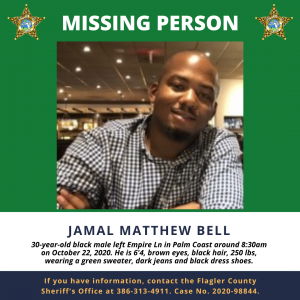Missing Person Jamal Bell